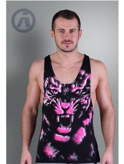 Camiseta Aerosol Panther Black Neon