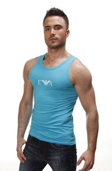 Camiseta Emporio Armani Tirantes Azul