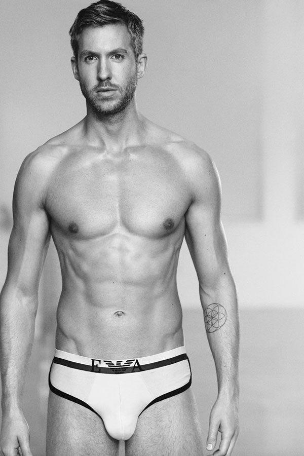 Calvin Harris es el nuevo modelo de Emporio Armani