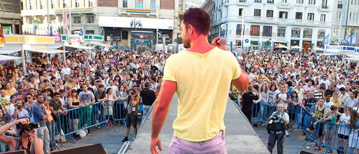 Orgullo Madrid Escenario Callao
