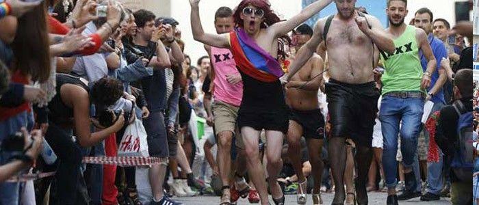 Carrera de Tacones Orgullo Madrid