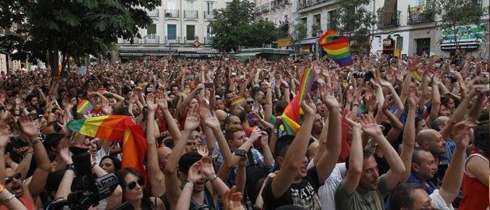 Plaza Chueca Orgullo Madrid
