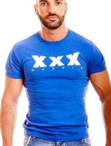 camiseta ajaxx63 para XXXMadrid en azul