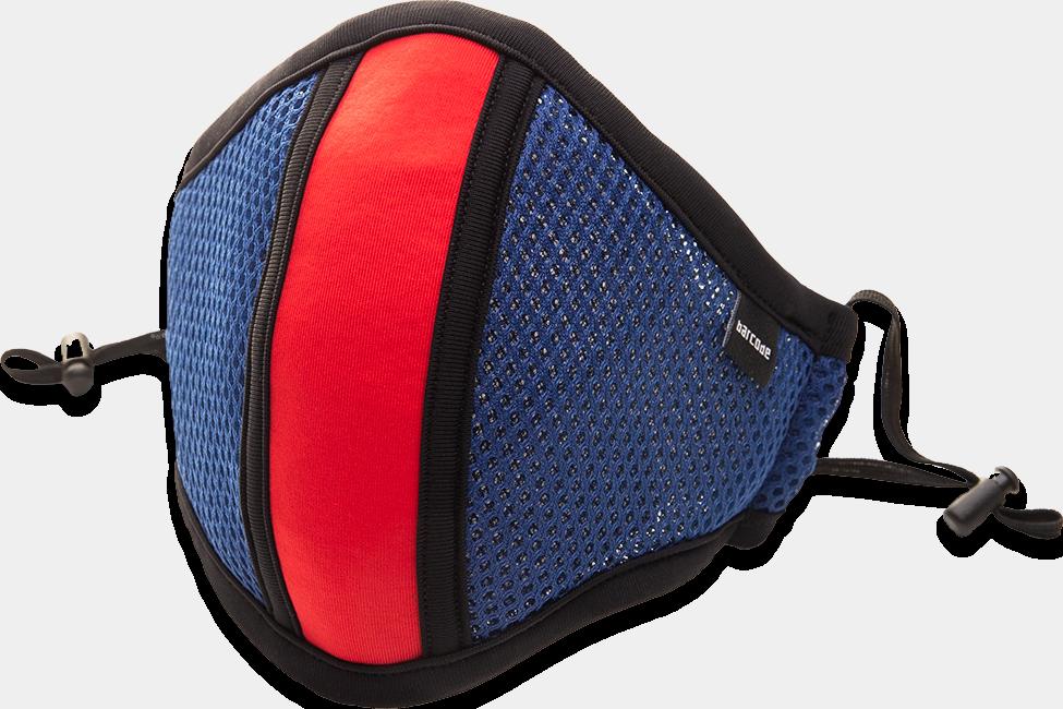 mascarilla protectora barcode berlin azul